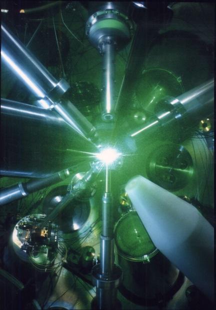 プラズマ実験のイメージ